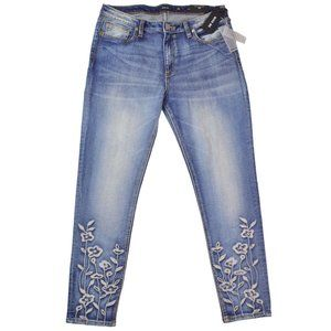 NEW Miss Me Jeans Ankle Skinny Embroidered